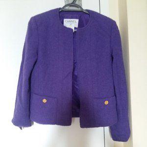 Authentic Chanel Purple blazer